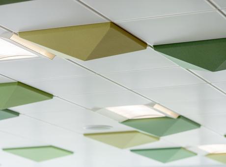 Quietspace 3d Ceiling Tiles Nomadtika